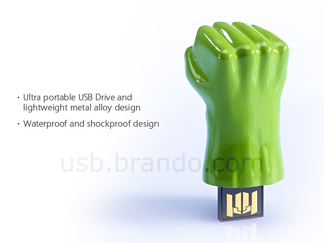 infoThink The Avengers USB Flash Drive - Hulk