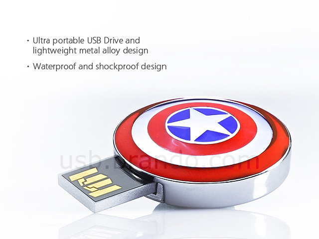 infoThink The Avengers USB Flash Drive - Caption America