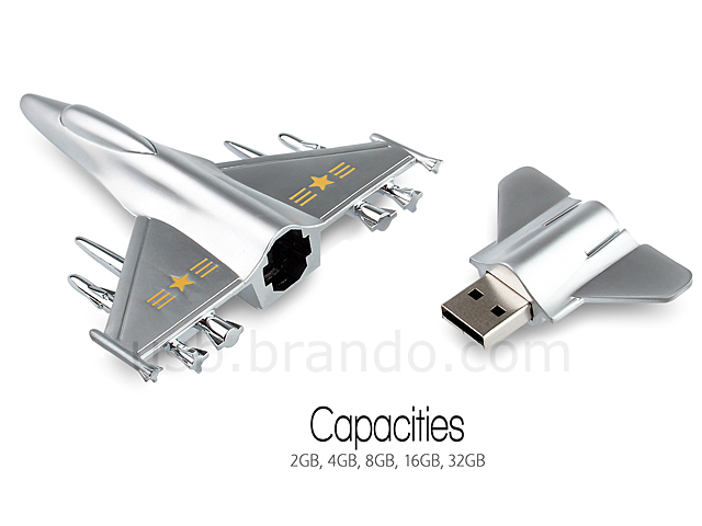 USB Metallic Aircraft Flash Drive
