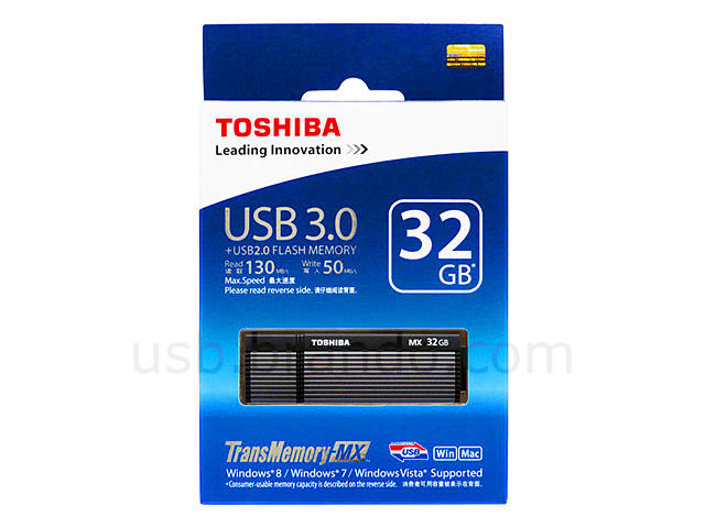 TOSHIBA TransMemory-MX™ USB 3.0 Flash Drive