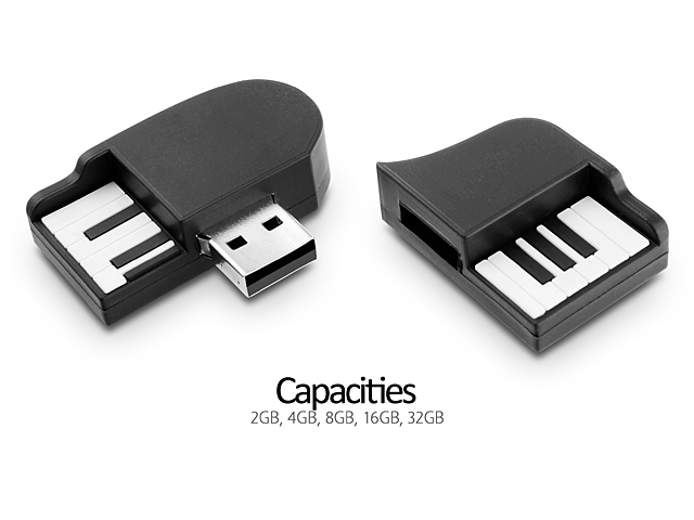 usb mini piano flash drive. Black Bedroom Furniture Sets. Home Design Ideas