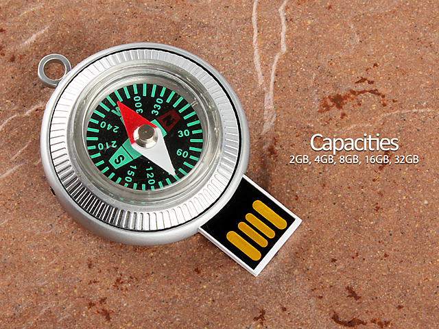 Usb Compass Flash Drive