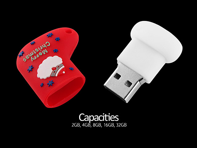 USB Santa Stocking Flash Drive