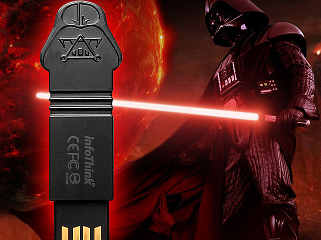 infoThink Star Wars - Darth Vader Name Card Holder USB Flash Drive