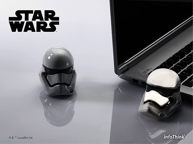 infothink star wars stormtrooper usb flash drive. Black Bedroom Furniture Sets. Home Design Ideas