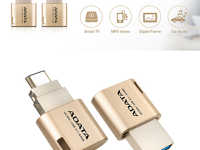 A-Data UC350 USB Type-C 3.1 OTG Flash Drive