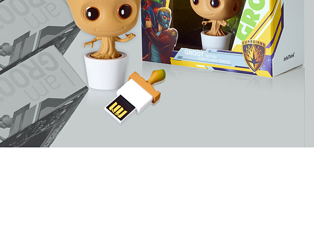 infoThink Guardian of the Galaxy Vol. 2 - Groot USB Flash Drive