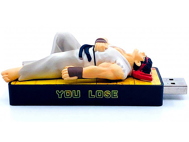 Street Fighter You Lose USB Flash Drive - Ryu
