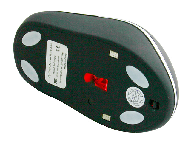 Wireless Mouse with USB Hub