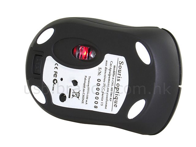 USB 2.4GHz Wireless Optical Mouse