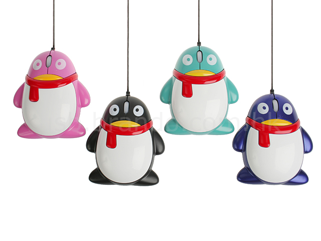 USB Penguin Optical Mouse