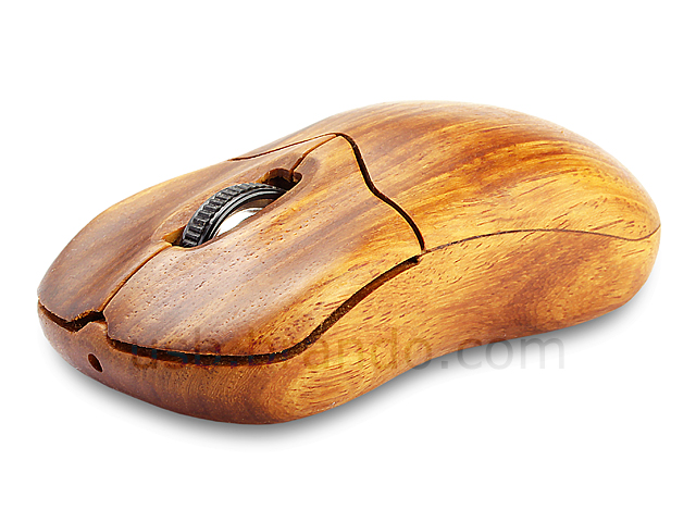 Usb Wooden Wireless Mouse