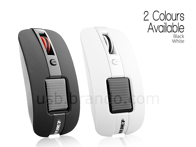 Solar Rechargeable Wireless Mouse