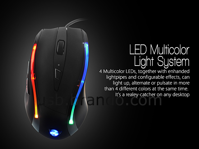 Usb Flash Leopard Gaming Mouse
