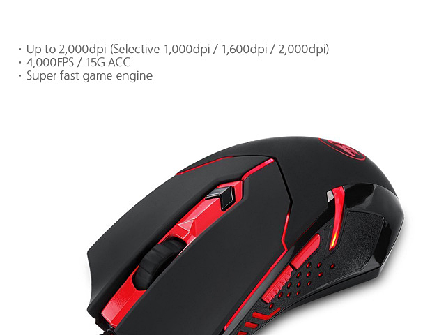 Redragon Centrophorus USB Game Mouse