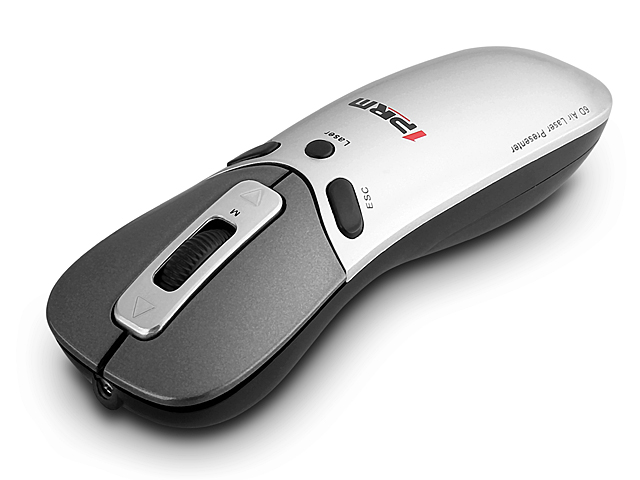 2.4GHz Wireless 6D Air Mouse with Laser Presenter