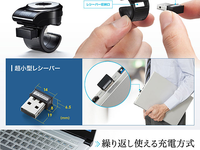 Sanwa Wireless Ring Mouse 2