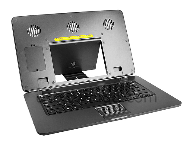 usb notebook cooling pad with keyboard touchpad. Black Bedroom Furniture Sets. Home Design Ideas