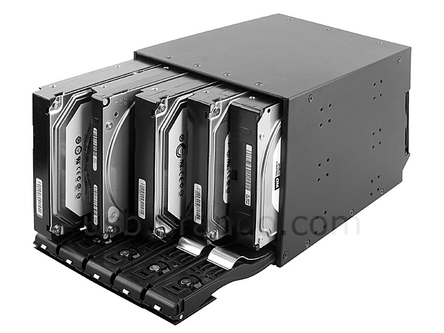 Quintuple 3 5 Quot Sata Sas Hdd Rack