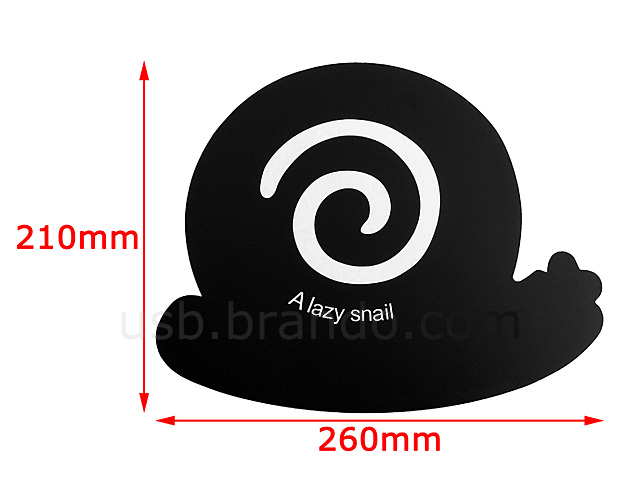Lazy Snail Mouse Pad