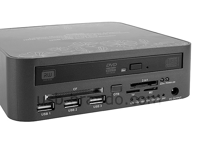 Multi-Function HDD/DVD Computer Companion