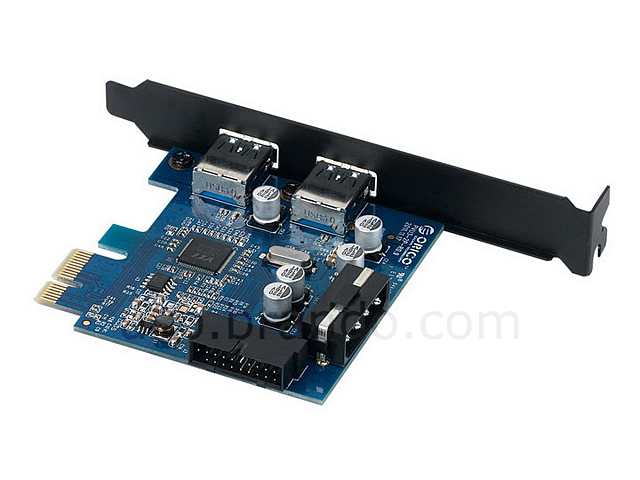 ORICO 2-Port USB 3.0 PCI Express Card with 20-Pin Header