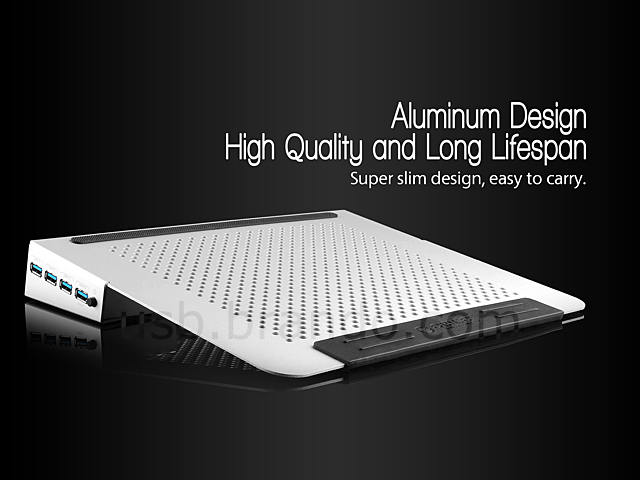 Usb Notebook Cooling Pad With Usb 3 0 3 Port Hub