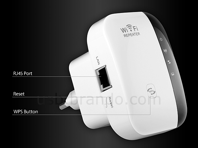 2.4G Wireless Repeater (300Mbps+2T2R)