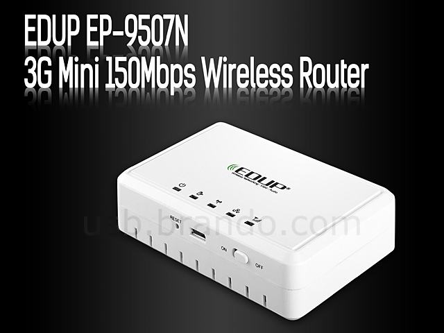 EDUP® EP-9507N 3G Mini 150Mbps Wireless Router