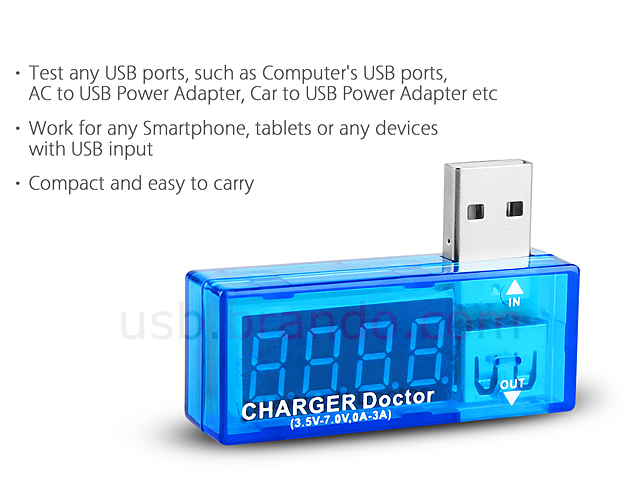 USB Power Current/Voltage Tester