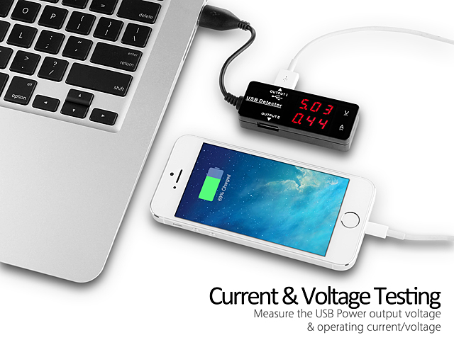 USB Power/Current Voltage Detector