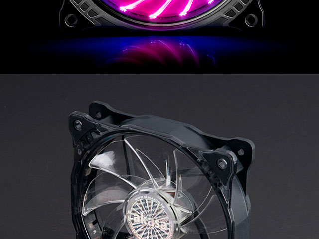 Vegas X7 12cm RGB LED Cooling Fan