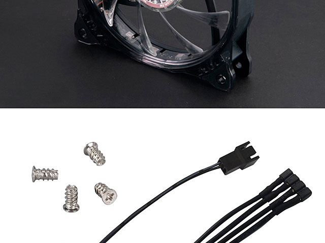 Vegas X7 12cm Rgb Led Cooling Fan