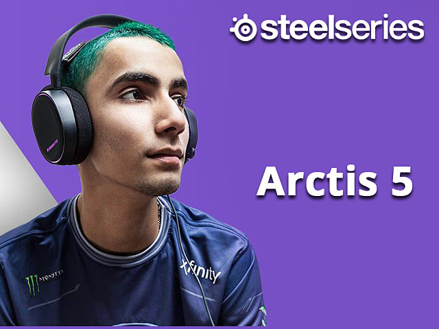 SteelSeries Arctis 5 Gaming Headset
