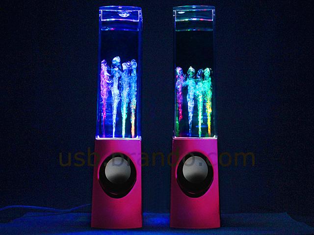 Usb Mercury Dancing Water Speaker