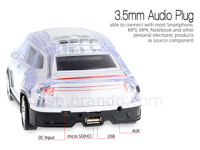 USB Racing Car MP3 Player