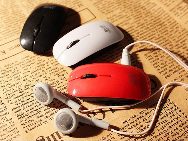 USB Mini Mouse MP3 Player
