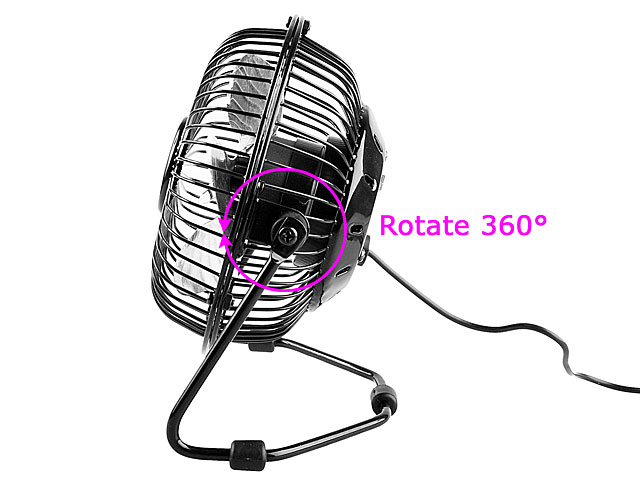 USB Metal Retro Fan