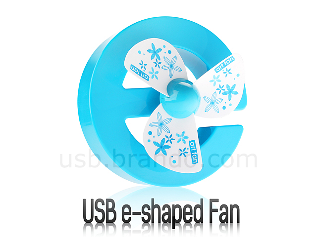 USB e-shaped Fan