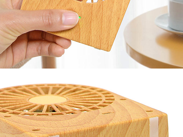Mini Woody USB Fan