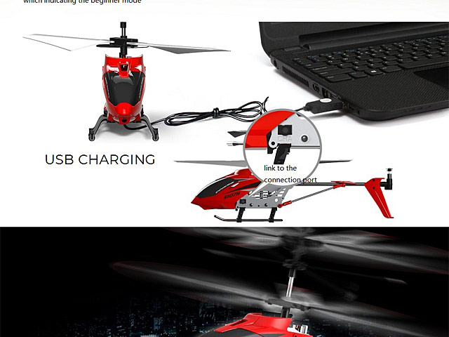 Syma S107H 2.4GHz 3CH RC Helicopter Alloy Copter
