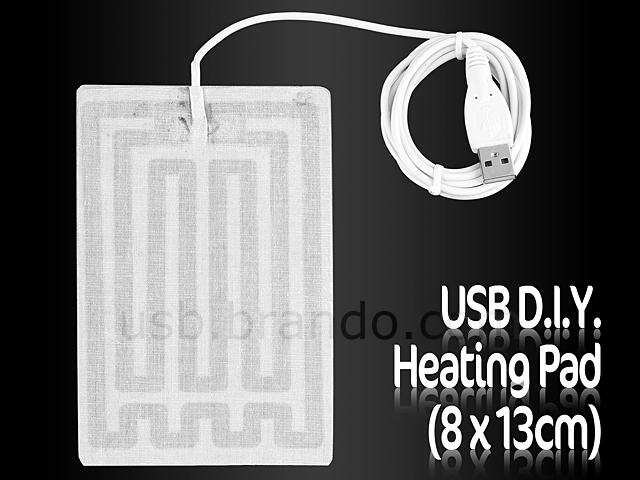 Usb D I Y Heating Pad 8 X 13cm