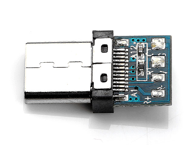 USB 3.1 Type C Male SMT+PCB Connector (3.0 version)