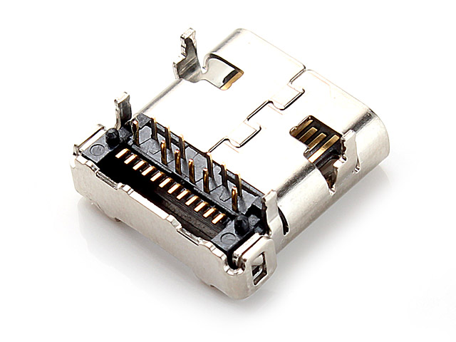 USB 3.1 Type C Female SMD Connector Four Pins