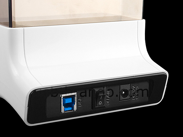 USB 3.0 SATA HDD Dock with One Touch Backup