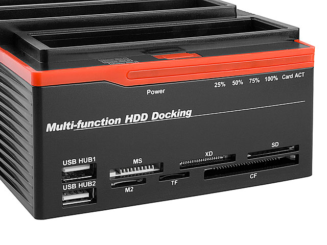 Triple Sata Ide Hdd Multi Function Dock
