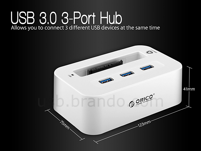 Orico usb 3 0 2 5 sata hdd dock with 3 port hub - Can a usb 3 0 be used in a 2 0 port ...