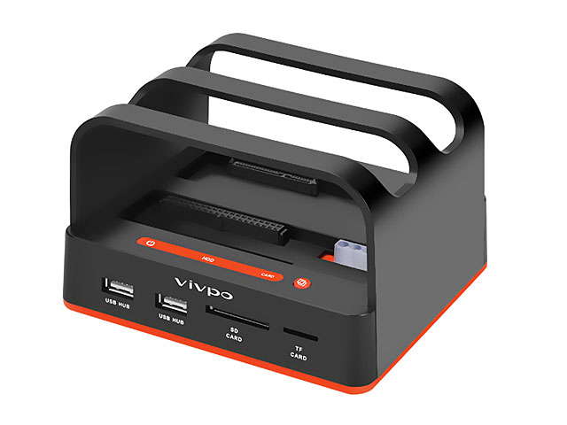 USB SATA/IDE HDD Multi-Function Dock with One Touch Backup