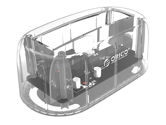 ORICO 6139U3 USB 3.0 SATA Transparent HDD Dock