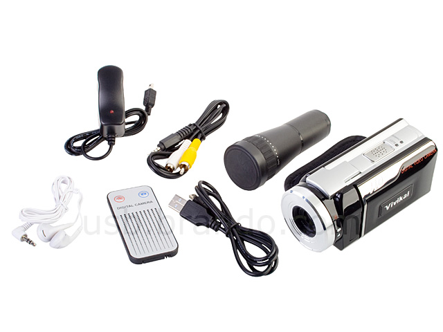 HD Digital Video Camcorder with Telescope